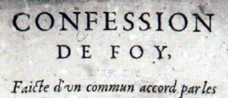 比利时信条简释07:圣经的属性